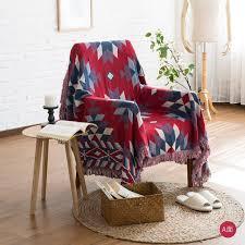 canapé exotique kilim 100 coton bohême tapis tapis exotique géométrique literie
