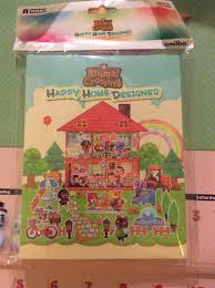 hori amiibo card folio now shipping animal crossing happy home