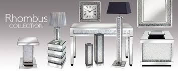 mirrored glass coffee table floating crystal bevelled wall mirrors and furniture high quality