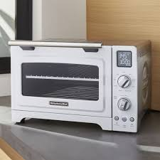 Toaster Kitchenaid Kitchenaid White Convection Oven Crate And Barrel