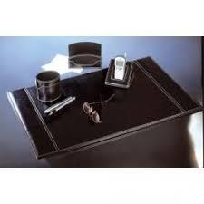 parure de bureau sign diffusion parure de bureau 4 pièces noir elyane comparer les