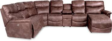 six piece power reclining sectional with las chaise by la z boy