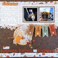 scrapbook inserts 14 best scrapbooking autumn images on scrapbook