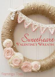 valentines day wreaths sweetheart s day wreath