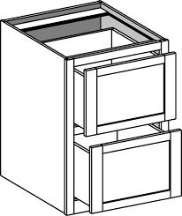 Drawer Base Cabinets Kitchen 2 Drawer Base Kitchen Cabinet Leola Tips
