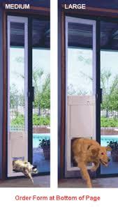 Dog Patio Large Power Pet Patio Door Large Automatic Pet Door Free