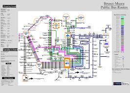 Brunei Map Getting Around Brunei Darussalam Lakwatserang Ligaw