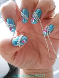 cute nails bornpretty store review 100cm elegant white beads
