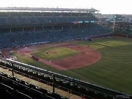Chicago Cubs Seat Map by Wrigley Field Section 536 Chicago Cubs Rateyourseats Com
