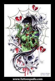 spider web and skull designs tattooshunt com