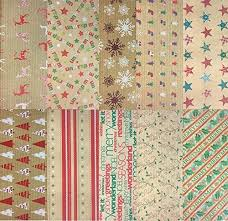 kraft christmas wrapping paper christmas wrapping paper co uk