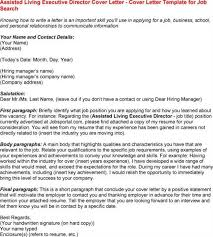 brilliant ideas of free sample executive director cover letter