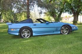 1987 greenwood corvette buy used 1987 chevrolet corvette blue greenwood daytona custom