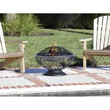fire pit topper fire sense stainless steel urn fire pit wood burning 02119