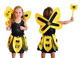 shop the wiggles emma dress up wings costume black u0026 yellow
