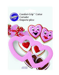 Comfort Grip Cookie Cutters Amazon Com Wilton Comfort Grip Double Heart Cookie Cutter