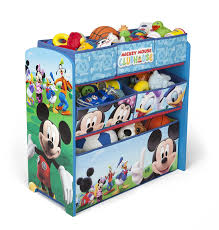 Mickey Mouse Clubhouse Bedroom Set Amazon Com Delta Children Mickey Mouse Clubhouse Multi Bin Baby