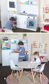 play kitchen ideas kmart kitchen hack for dramatic play play ideas and play