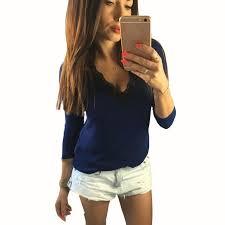 blouse tumbler blusas v neck chiffon blouse casual sleeve