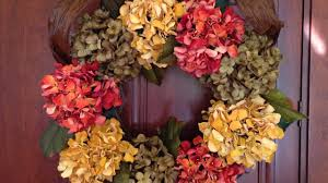 hydrangea wreath fall hydrangea wreath