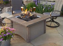 Firepit Set by Pine Ridge 2424 Square Fire Pit Table Fire Pits Fire Pits