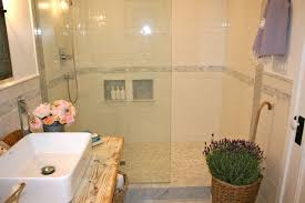 French Country Bathroom Ideas Colors White Shower Tiles Cottage Bathroom The Polished Pebble Country