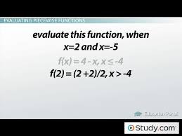 what are piecewise functions video u0026 lesson transcript study com