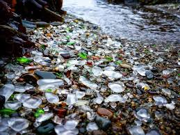 beach of glass glass beach disappearing in ft bragg grindtv