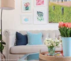 Spring Home Decor Seasonal Simplicity Spring Home Tour The Happy Housie