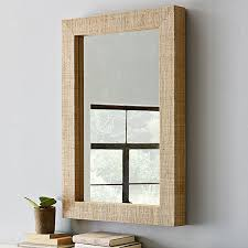 wood framed wall wood framed wall mirrors inovodecor