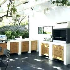cuisine exterieure beton cuisine d exterieure inspirational modele cuisine d ete po le en