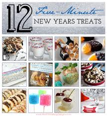 12 5 minute new years treats food and recipes