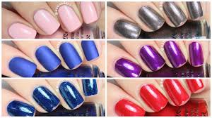china glaze fall 2016 rebel collection review youtube