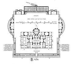 Baths Of Caracalla Floor Plan | plan of the baths of caracalla illustration ancient history