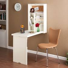 Small Fold Up Desk This Winter White Writing Desk Folds Up Onto The Wall Neat And