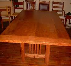 arts and crafts dining room furniture mission dining tables