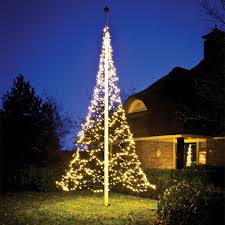 christmas tree shaped lights fairybell flagpole christmas tree lights flagpole warehouse