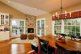 open concept living room dining room kitchen open concept kitchen dining room addition becomes hearth of the