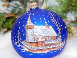 decorations glass ornaments made shapes producer poland alicja