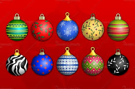 christmas ornaments christmas ornaments vector pack 1 design panoply