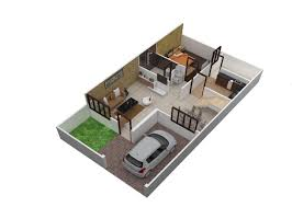 500 Sq Ft Apartment Floor Plan by Home