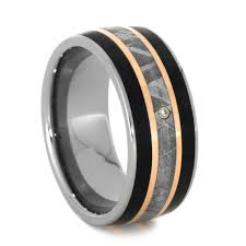 titanium mens wedding bands mens titanium wedding bands with diamonds the simplicity of