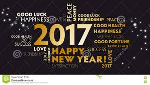 new year s postcards new years 2017 happy new year 2017 black stock illustration