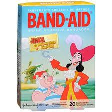 band aid disney jake land pirates bandages 20 ct