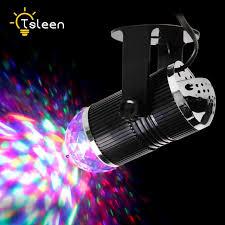 mini disco ball light cheap 3w dj light rgb changing sound actived crystal magic mini