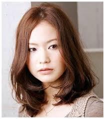 short layered haircut with bangs asian medium layered hair with