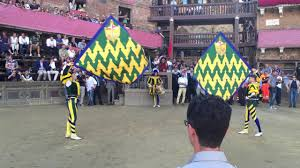 Palio Di Siena Flags The