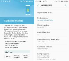 android security update t mobile galaxy s7 s7 edge get june security updates