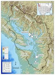 Sound Map The Salish Sea Encyclopedia Of Puget Sound