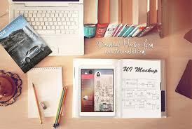 Graphic Designer Desk Free Workspace Mockup Design Templates Css Author